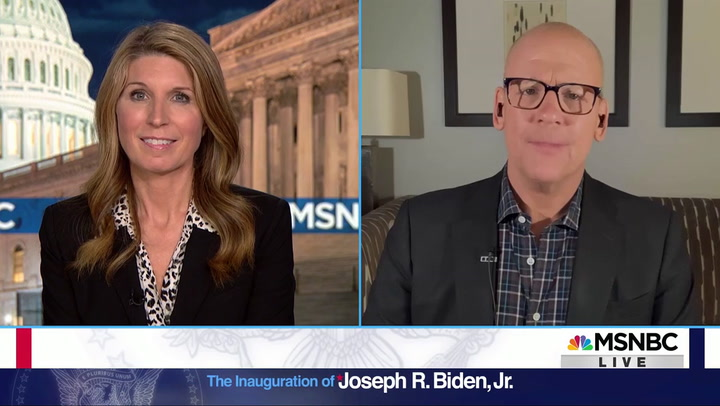MSNBC's Heilemann: Biden Standing with Past Presidents Was Like Seeing 'The Avengers'