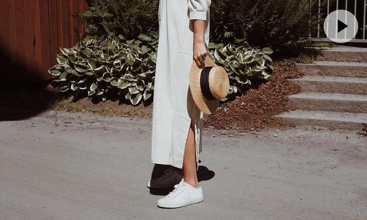 Vestido y zapatillas: 10 looks para demostrar que es el dúo ganador del verano