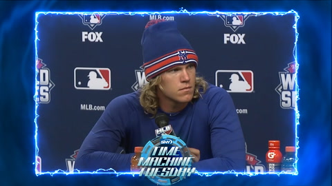 Time Machine Tuesday: Noah Syndergaard makes a World Series statement