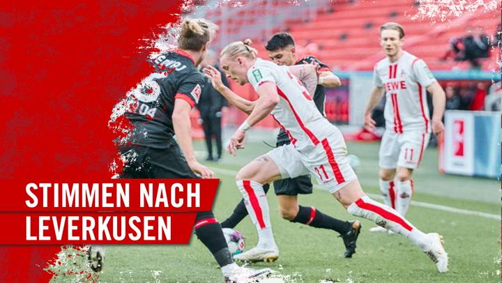 Stimmen nach Leverkusen