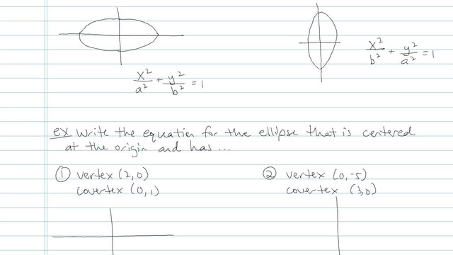 The Ellipse - Problem 5
