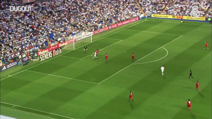 Golaços do Real Madrid contra o Valladolid