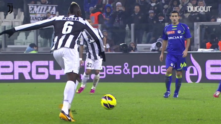 Incredible Goals: Paul Pogba Vs Udinese