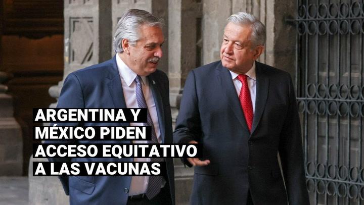 COVID-19: AMLO critica la ONU por su inacción ante el acaparamiento de vacunas de los países ricos