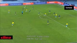 La plática entre Néstor Pitana y el VAR en el polémico gol de Brasil ante Colombia en la Copa América