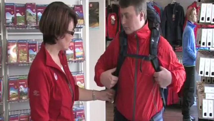 Hvordan justere ryggsekken før turen