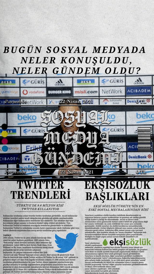 Sosyal medyayı sallayanlar - 22 Nisan