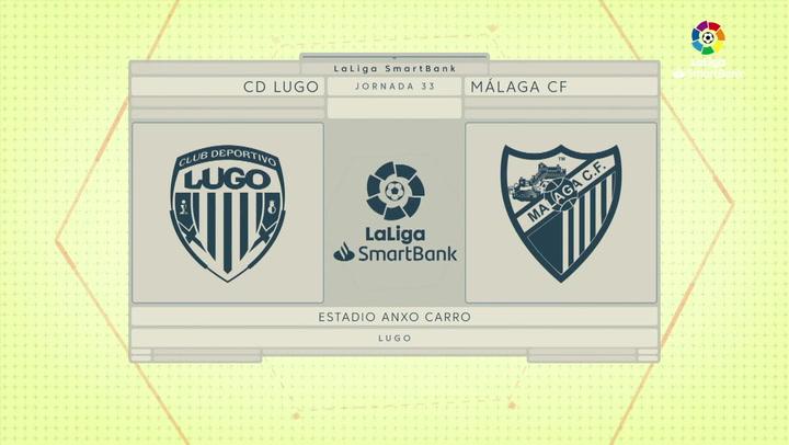 LaLiga Smartbank (Jornada 33): Lugo 0-1 Málaga
