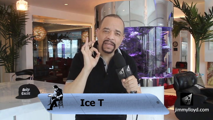 Ice T endorses The Jimmy Lloyd Songwriter Showcase -  jimmylloyd.com