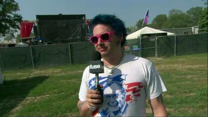 Fat Mike: Punk Rock at the Grammys? - Bonnaroo 2011