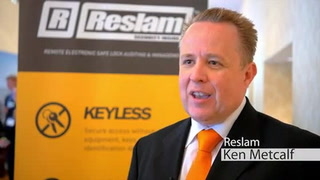 Reslam brings its solution for keyless ATM enclosure access to US