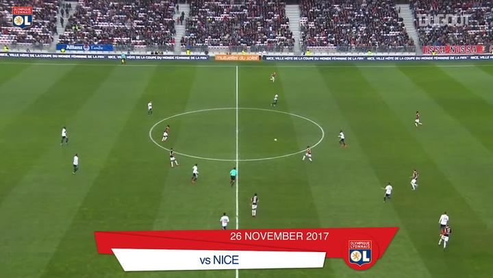 Las mejores asistencias de Tanguy Ndombélé con el Olympique de Lyon