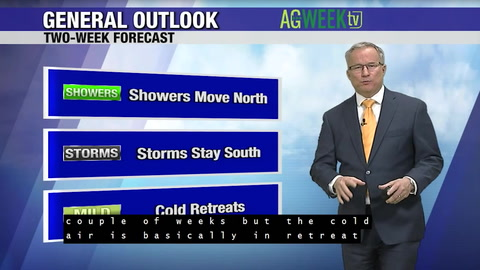 Join WDAY's John Wheeler for the latest agri-weather outlook.