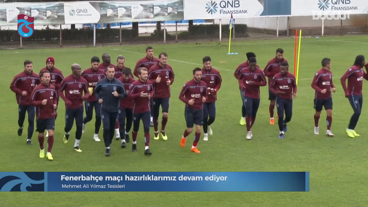 Trabzonspor Training Intensifies Before Fenerbahce Meeting