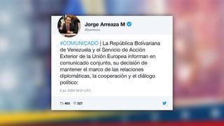 Venezuela da marcha atrás y suspende expulsión de embajadora de la UE