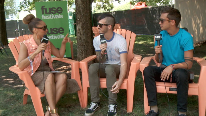 "Festivals: Lollapalooza 2013: Twenty One Pilots on Touring With Fall Out Boy, ""Car Radio"" Video"