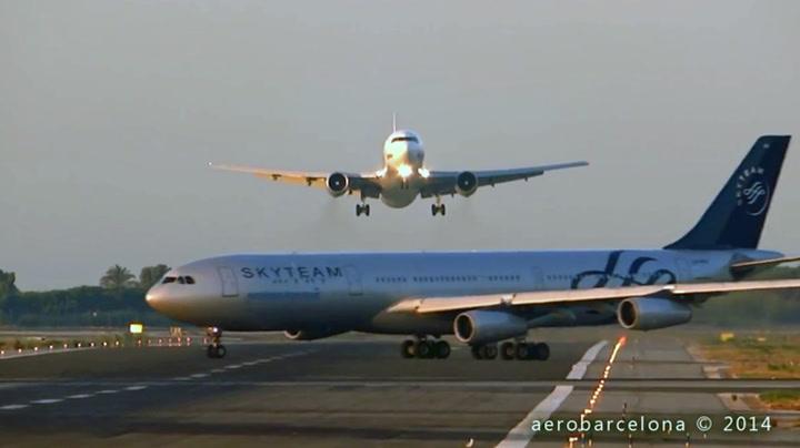 Her må piloten avbryte landingen