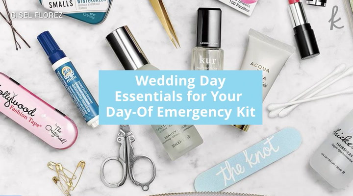Wedding Day Emergency Kit.Be Prepared With A Wedding Day Beauty Emergency Kit