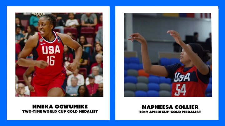 USA Basketball Women's Stay Ready Panel Featuring Napheesa Collier And Nnemkadi Ogwumike