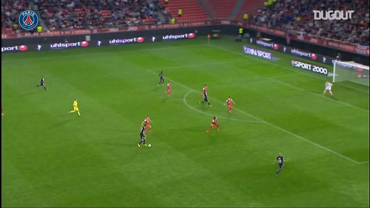 Ibrahimović Assist For Cavani Vs Valenciennes