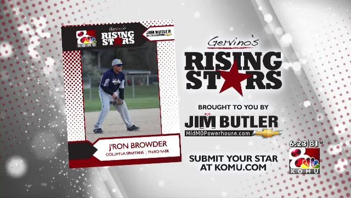 Gervino's Rising Star - J'Ron Browder