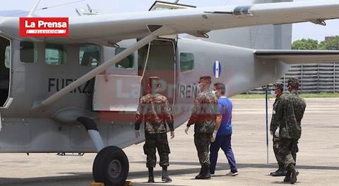 Cuerpos de las víctimas de avioneta que se estrelló en Roatán llegan a San Pedro Sula
