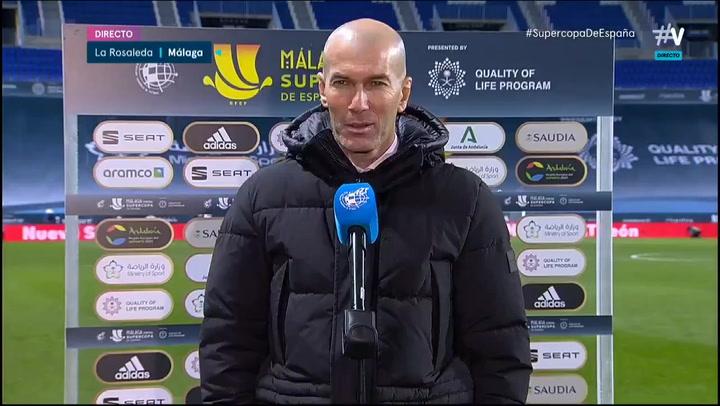 "Zidane: ""No me preocupa que esto nos pueda pasar factura"""