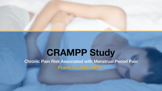 CRAMMP Study: Frank Tu, MD, MPH