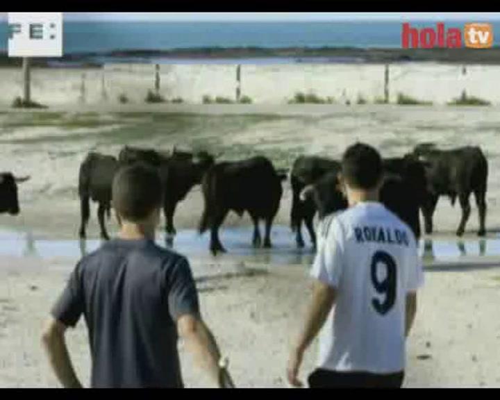 Siete toros siembran el pánico en el rodaje de Tom Cruise en Cádiz