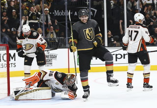 Golden Edge: Fleury Shuts Out Anaheim