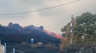 Terremoto sacude al volcán Cumbre Vieja en la isla de La Palma