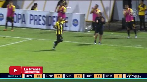 Real España venció 3 - 1 al Parrillas One