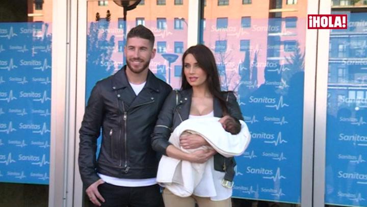 Pilar Rubio y Sergio Ramos, felices y enamorados presentando a su segundo hijo: \'Se llama Marco\'