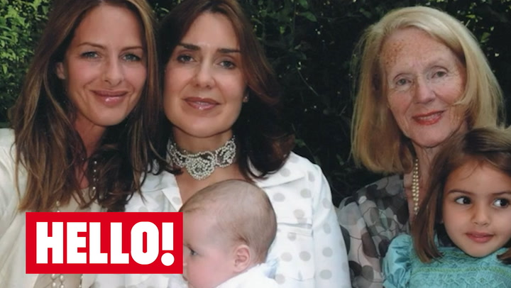 Trinny Woodall reveals her mother has passed away