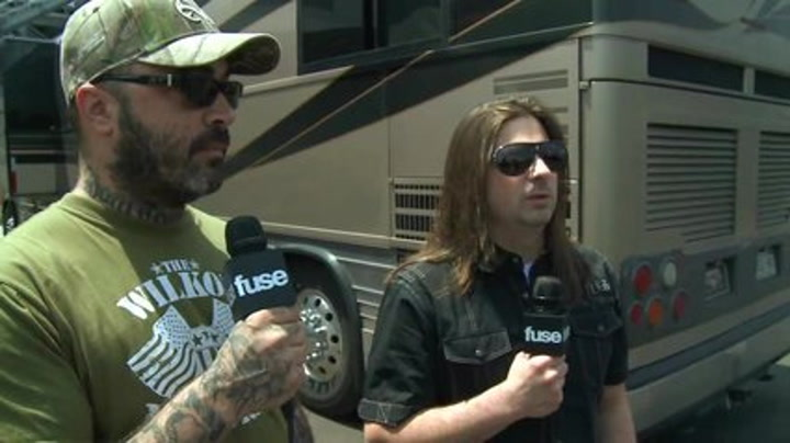 Rock On The Range 2011 : Staind On the Departure of Their Drummer