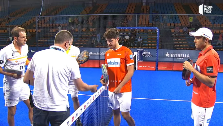 Resumen cuartos de final Bela_Tapia Vs Juan Martín_Campagnolo Estrella Damm Menorca Open