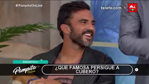 Cubero a Pampita: ¿Te acordás cuando te escribí y estabas con Pico?