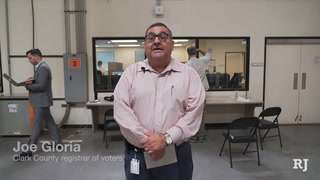 Clark County recount votes in commission's District E primary