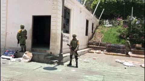 Rumores sobre coronavirus desatan violencia en poblado indígena de México