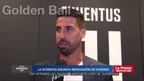 Juventus anuncia renovación de Khedira