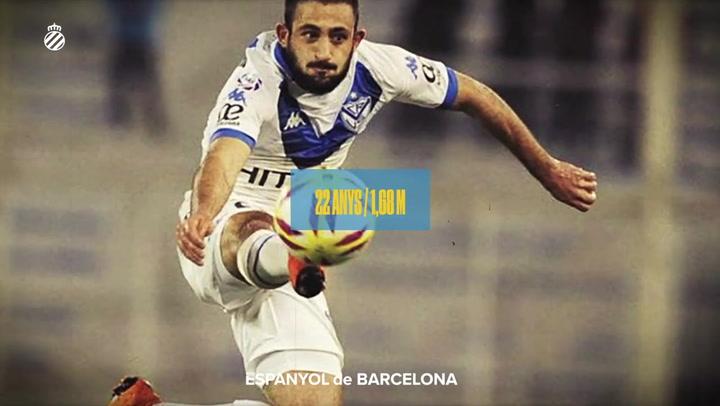 El Espanyol da la bienvenida a su nuevo fichaje, Matías Vargas