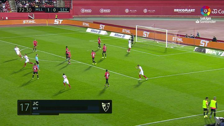 Gol de Lamela (1-1) en el Mallorca 1-1 Sevilla