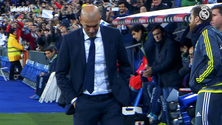 Zidane reaches 200 games as Real Madrid coach