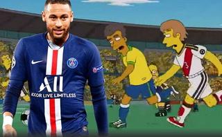 ¿Nuevo acierto? La última predicción de los  Simpson con el cambio de Neymar de Nike a Pumas