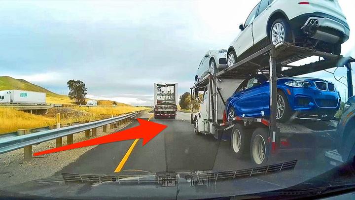Sjåføren skjønner ikke hvor farlig forbikjøringen er