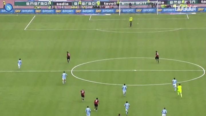 Marek Hamsik's box-to-box goal vs AC Milan