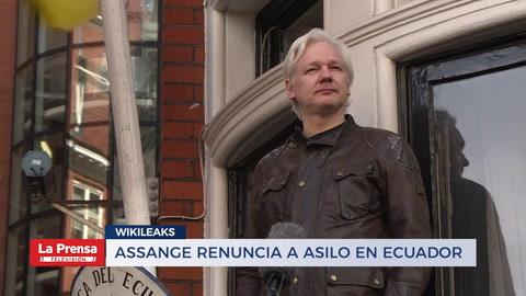 Assange rechaza asilo en Ecuador