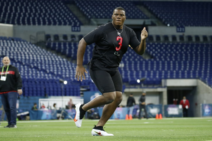 NFL draft: DL Derrick Brown believes he is more than just a run stopper