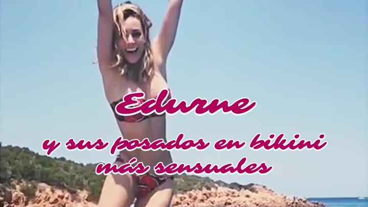 Edurne y sus posados más sensuales en bikini