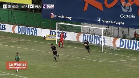 El golazo de tiro libre de Ilse Barahona (Platense) contra Marathón